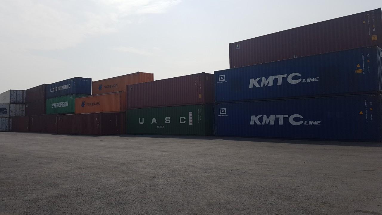 Thùng container cũ các loại