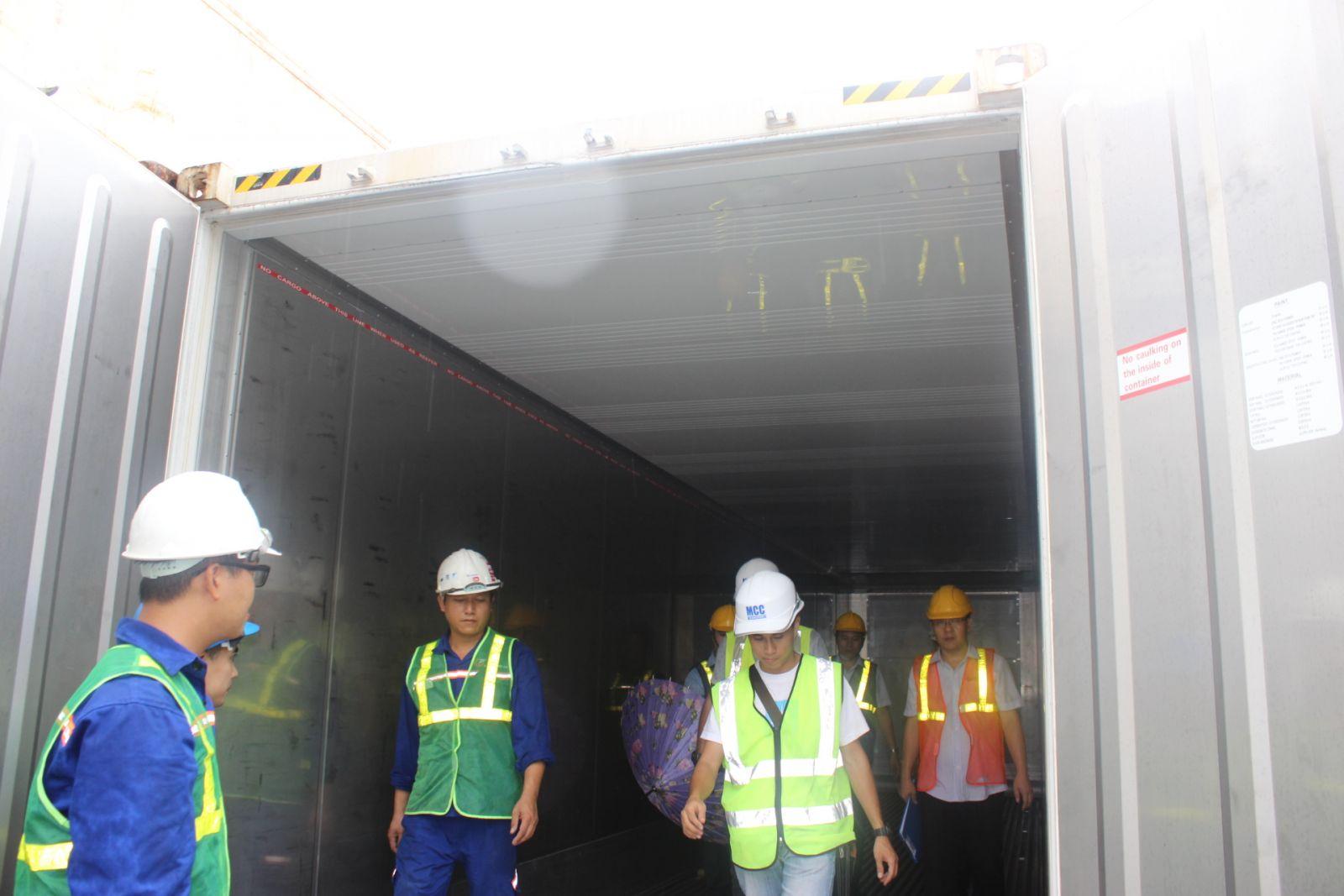 Chất lượng thùng container