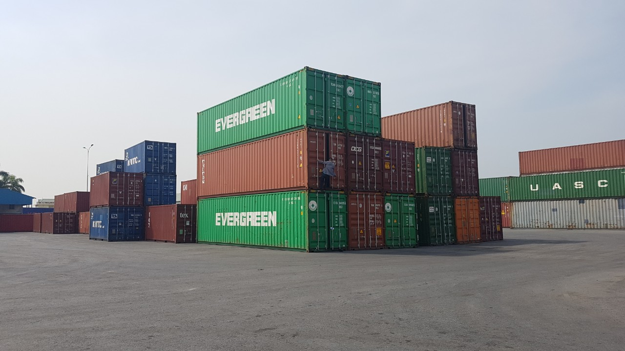Container 20 feet ở Hải Phòng