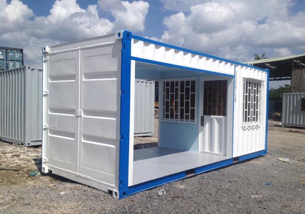 Container văn phòng tại công trường