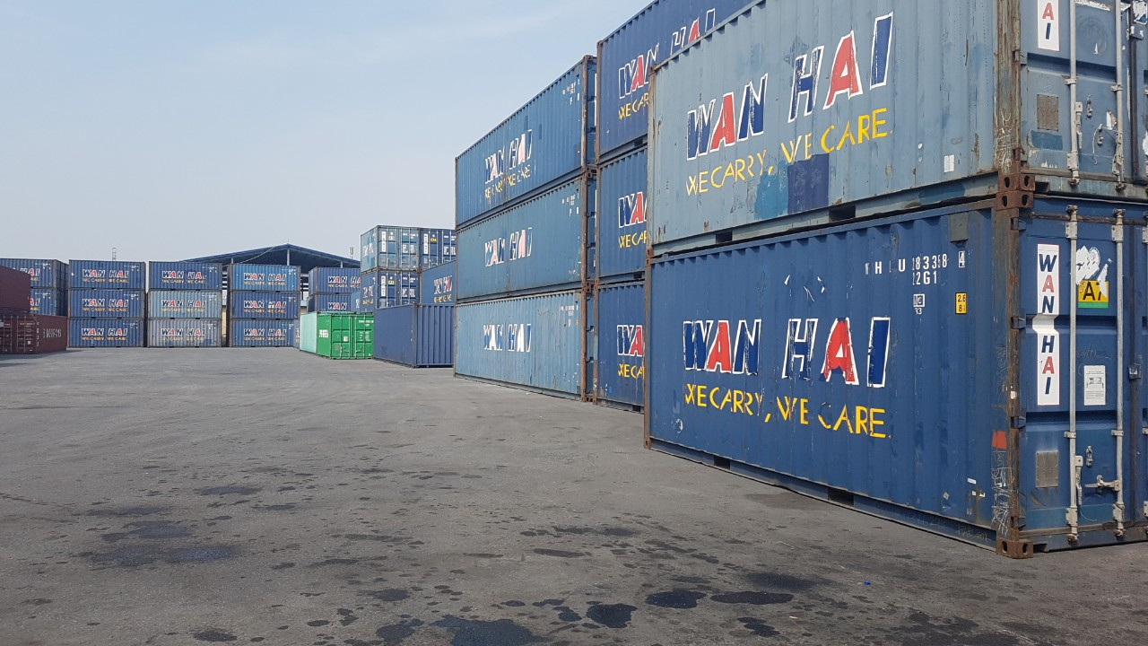 Kho container cũ hải phòng